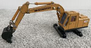 Replica Komatsu Shinsei PC100 Excavator Made In Japan 1/50