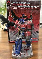 """PALISADES TRANSFORMERS: OPTIMUS PRIME 12"""" POLYSTONE STATUE  toy Figurine Bust"""