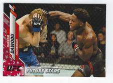 HAKEEM DAWODU 2020 TOPPS UFC INDEPENDENCE DAY PARALLEL /76