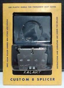 Kalart Custom 8 Splicer Model S-4 For 8mm Film~Original Packaging~MADE IN USA
