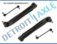 4pc Set: New Pair (2) Rear Lower Control Arms + Sway Bar Links for Kia Optima