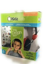 Kidzsafe volume limittting headphone protects little ears safely
