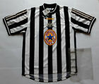 BNWT New NEWCASTLE UNITED 1997 BROWN ALE Vintage ADIDAS Shirt Jersey 1998 Utd