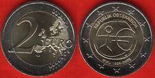 "Austria 2 euro 2009 ""EMU - Introduction of the Euro"" BiMetallic UNC"