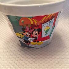 SM Disney Mickey & Minnie Mouse Ceramic Planter Flower Pot Plant Has 3 images