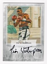 2010 Ringside Boxing Round One Autograph Tim Witherspoon Heavyweight SP/90