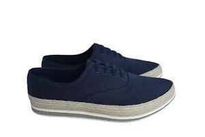New Authentic PRADA Mens Fashion Sneakers Schuhe US11.5 EU44.5 UK10.5 4E3114