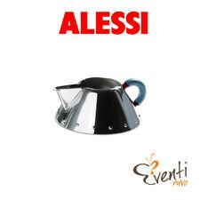 Alessi - Cremiera in acciaio inox 18/10 lucido con manico in PA, azzurro 9096