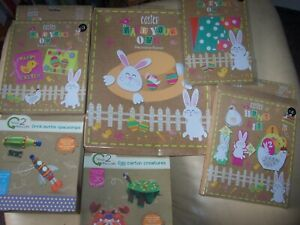 Assorted Craft Kits / Activity Packs - mostly EASTER themed.