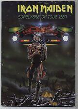 Iron Maiden - Somewhere On Tour 1987 JAPAN PROGRAM May 11-21 1987