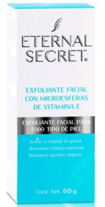 ETERNAL SECRET EXFOLIANTE FACIAL CON MICROESFERAS DE VITAMINA E  60g/2.1 oz