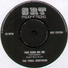 """TROLL BROTHERS ~ YOU TURN ME ON / TURN OUT THE LIGHTS ~ 1973 UK 7"""" SINGLE"""