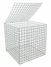 EcoGrid Gabion Basket 0.55m x 0.55m x 0.55m :: Erosion Control :: Decorative