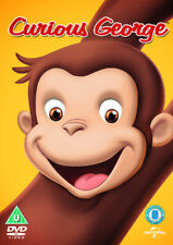 Curious George DVD (2014) Matthew O'Callaghan cert U ***NEW*** Amazing Value