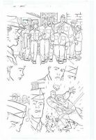 CAPTAIN AMERICA ORIGINAL PUBLISHED ART PAGE MARVEL ADVENTURES SUPER HEROES
