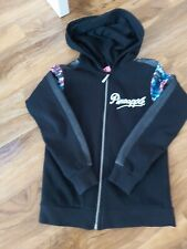 Girls debenhams pineapple hoody age 9-10 vgc