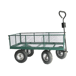 Huge Heavy Duty Outdoor Trolley. 6 bolt Assembly. Puncture Proof Tyres OT1014W6