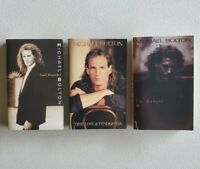 MICHAEL BOLTON - Bundle Lot of 3 Cassette Tapes - Soul Provider - The Hunger