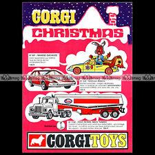 CORGI TOYS 1971 MAGIC ROUNDABOUT MANEGE ENCHANTE 807 Pub / Publicité / Ad #A600