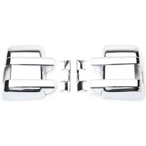 Putco Door Mirror Cover-Chrome For 08-16 Ford F-250 Super Duty #400123