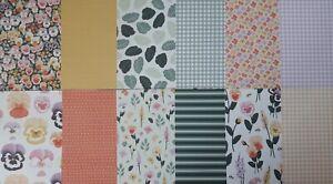 """Stampin up ✿ Designerpapier DSP Stiefmütterchen ✿ 6""""x 6"""" 15,2 x 15,2 cm"""