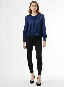 Dorothy Perkins Womens Black One Button Treggings With Sustainable Fibres Pants