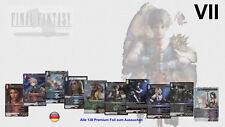 OPUS 5 V Final Fantasy TCG Alle 166 Foil Premium Karten zum Auswählen !