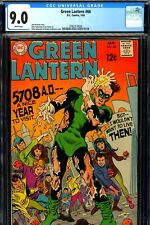 Green Lantern #66 CGC GRADED 9.0 - white pages - Sekowsky/Giella art