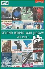 Seconde guerre mondiale puzzle - 500 pièces-imperial war museum (iwm) wwii mer/marine