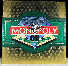 Parker Brothers Monopoly Board Game Limited 60th Anniversary Edition