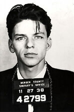 "Frank Sinatra Mugshot Bergen County 13 x 19"" Photo Print"