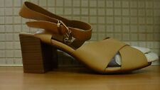 Marks & Spencer Crossover Sandals with Insolia Wider Fit 8/42 BNWT RRP £33 Beige