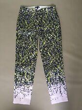 J.Crew Cropped Trouser Pants Floral Print Size 2