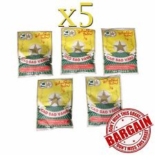 5 x 3g Golden Star Aromatic Balm - Cold Headache Runny nose Joint pain HERBAL