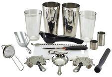 17pc Cocktail Shaker Mixer Set, Mixer Making Bar Kit Accessories, Gift Set