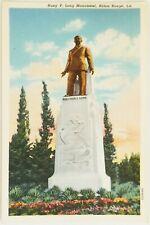 Huey P. Long Monument Baton Rouge Louisiana Postcard a
