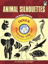 Animal Silhouettes CD-ROM and Book Dover Electronic Clip Art
