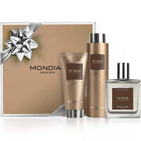 Mondial Mens Gift Pack Luxury Nº908-V Fragrance After Shave Shaving Cream Shower