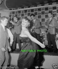 1962 Photo Reprint Of Sabrina (Norma Sykes) Dancing The Twist - 5 by 7