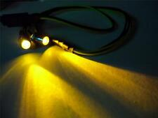 Yellow 3mm RC LED Lights Plug & Play Traxxas HPI Truck Car Buggy 1/10 1/12 1/16