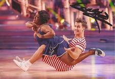STRICTLY COME DANCING: GORKA MARQUEZ SIGNED 6x4 ACTION PHOTO+COA