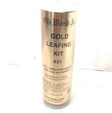 Old World Art Basic Gold Leafing Kit 831