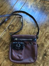 womens handbags and purses/Brighton Brown Leather Crossbody Purse