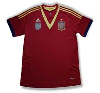 Spain 2013 2014 Home Football Soccer Jersey Camiseta Shirt Adidas National Team