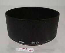 ORIG Nikon hn-28 objetivamente parasol lens Shade Hood e77 77 77mm sb1429 Japón