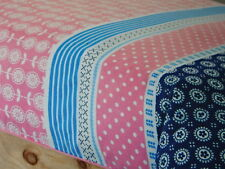 BLUE PINK Britt QUEEN BED QUILT/DOONA COVER BNIP