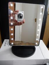 Luz LED táctil iluminado maquillaje cosmético Espejo de baño vanidad de afeitar! nuevo!