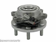 For NISSAN NAVARA 2.5 TD DCi D40 05- FRONT WHEEL HUB BEARING ABS COMPLETE