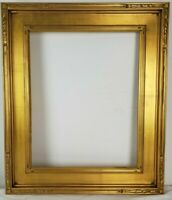 16 x 20 Wood Picture Frame American Gold Leaf Gallery Frame
