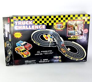 Artin Race Track Truck Challenge Battery Operated Road Racing Toy Trucks 10120B